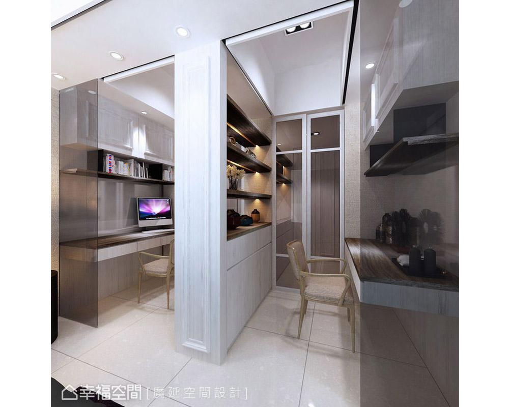 四居 跃层 新古典 样板间 厨房图片来自幸福空间在149平伊莎美学实品屋的分享