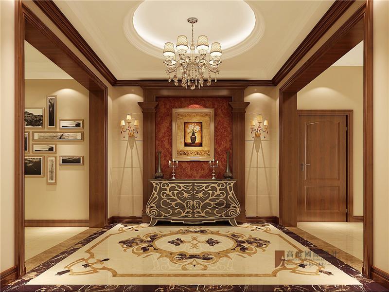 美式 三居 公寓 大户型 80后 小资 玄关图片来自高度国际姚吉智在140平米美式三居公寓张扬的奢华的分享
