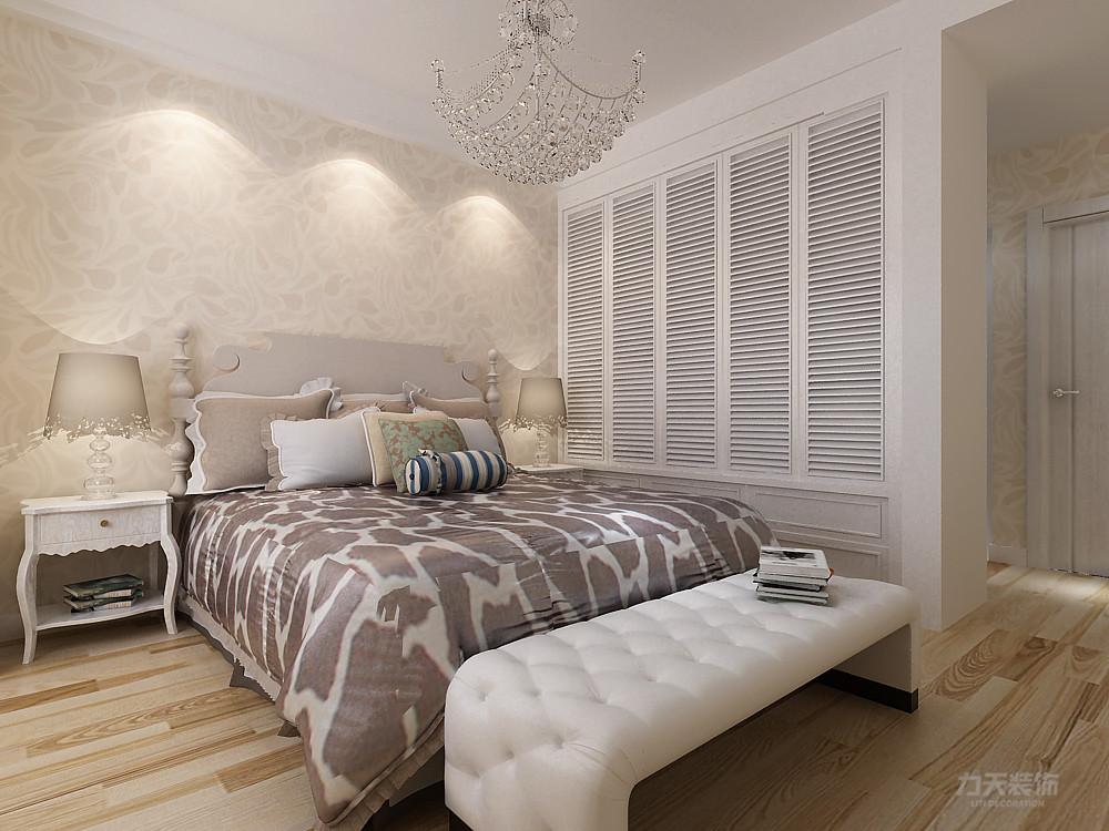 简约 现代 三居 收纳 小资 卧室图片来自阳光力天装饰在力天装饰-盛世景园-131㎡-简约的分享