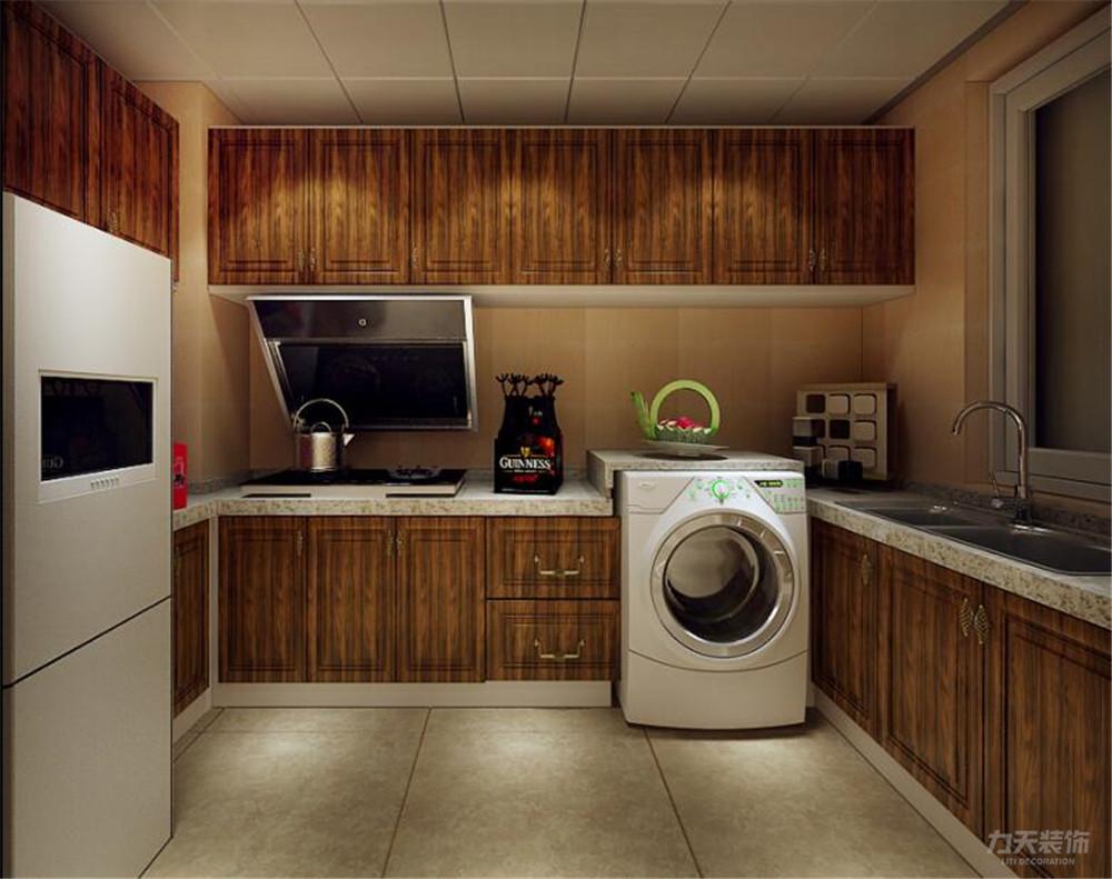 东南亚 二居 收纳 小资 厨房图片来自阳光力天装饰在力天装饰-融创天托-81㎡-东南亚的分享