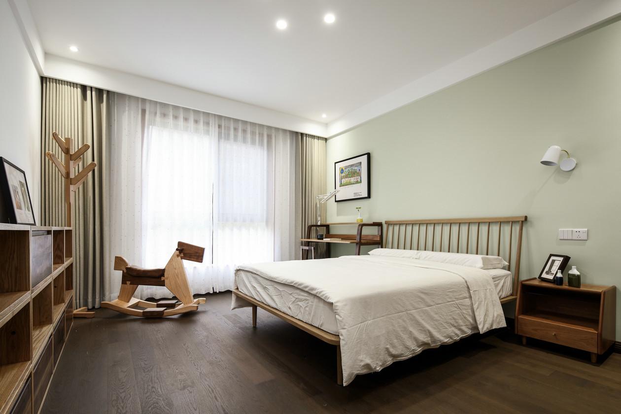 简约 收纳 三居 小资 卧室图片来自金空间装饰集团在简约•原木风的分享