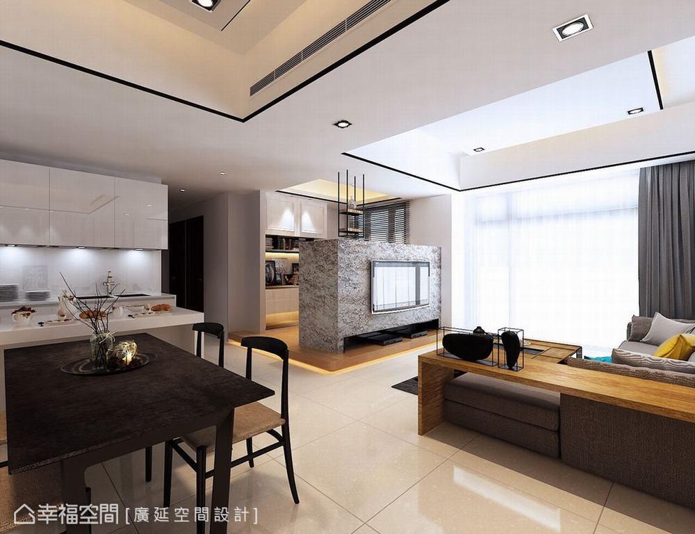 四居 跃层 新古典 样板间 客厅图片来自幸福空间在149平伊莎美学实品屋的分享