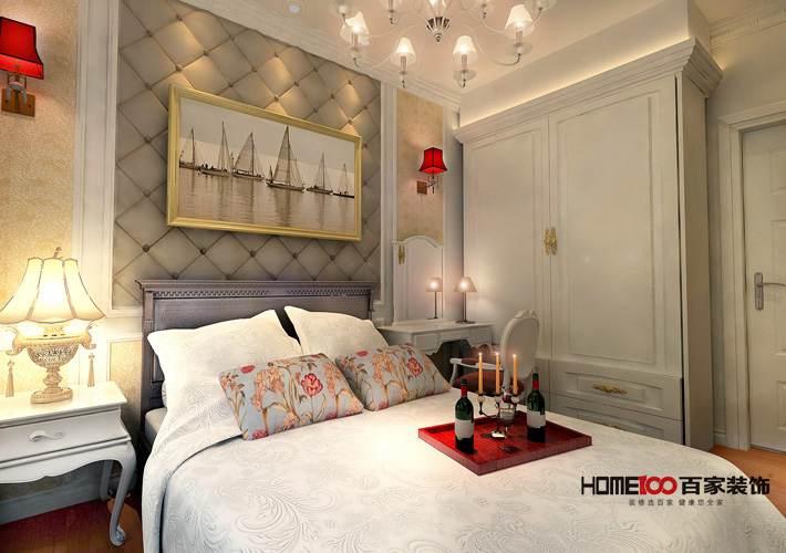 三居 客厅 餐厅图片来自百家装饰小西在碧桂园银河城113平欧式风格的分享
