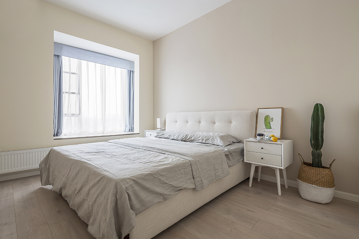 简约 白领 80后 三居 卧室图片来自金空间装饰集团在简约•清新的分享
