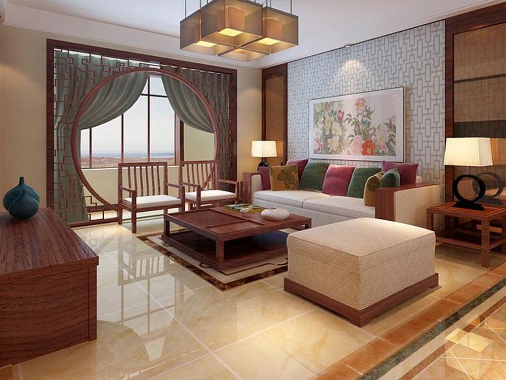 四居 中式 客厅图片来自tjsczs88在金地紫乐府的分享