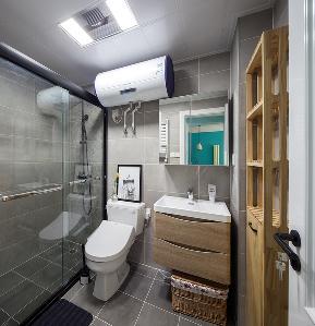 地中海 三居 80后 卫生间图片来自金空间装饰集团在清爽•地中海的分享
