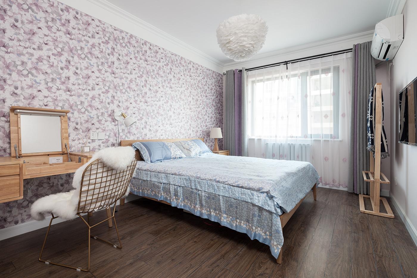 地中海 三居 80后 卧室图片来自金空间装饰集团在清爽•地中海的分享