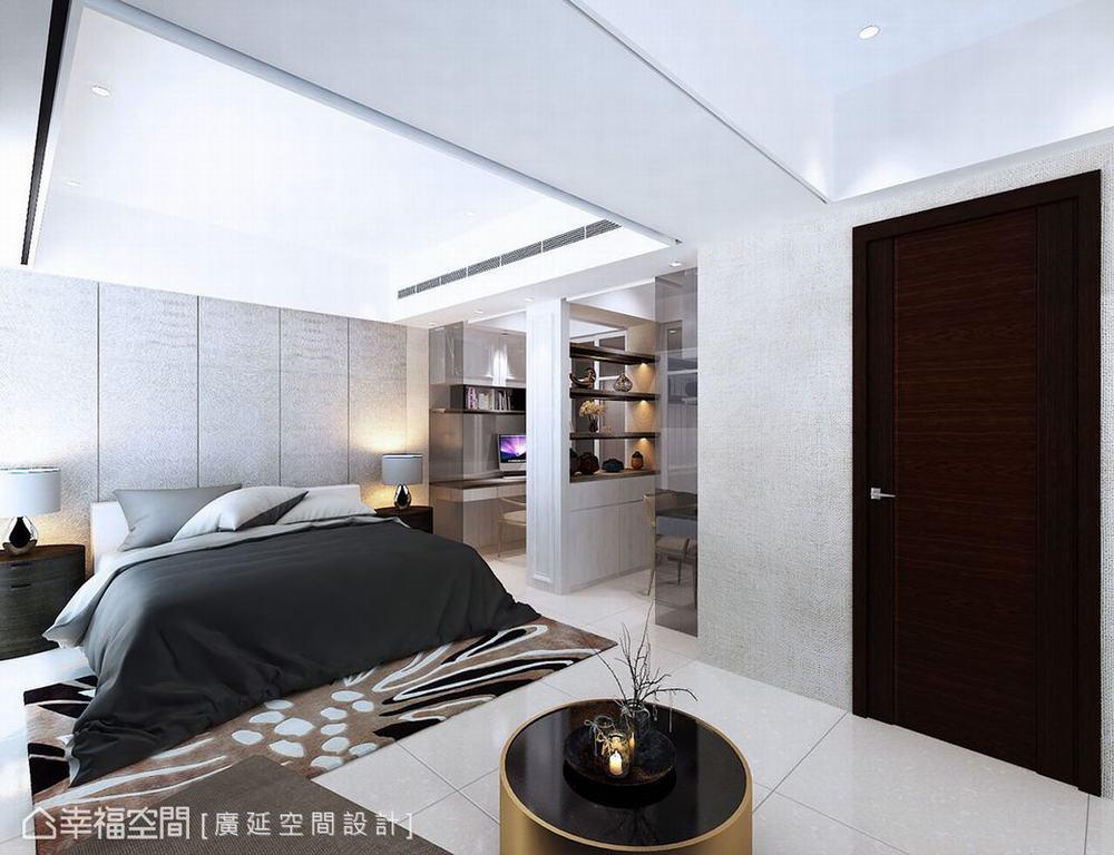四居 跃层 新古典 样板间 卧室图片来自幸福空间在149平伊莎美学实品屋的分享