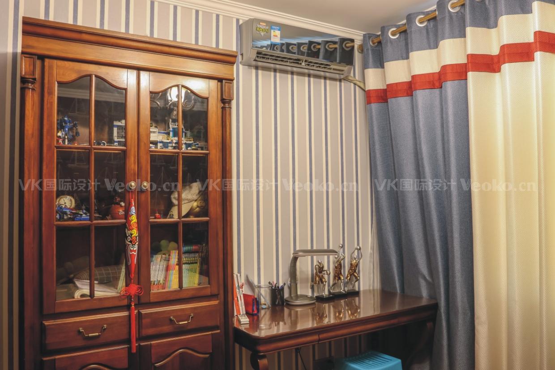 美式 三居 卧室 三口之家 儿童房图片来自VK国际设计在美式设计的分享