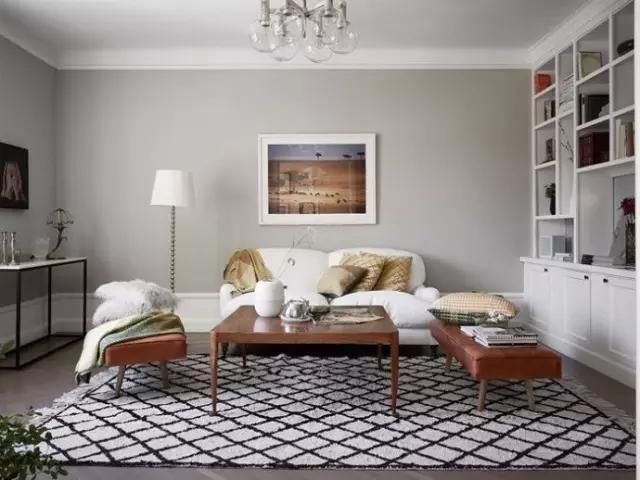 客厅图片来自家居装饰-赫拉在兰州实创装饰罗马家园120㎡实景的分享