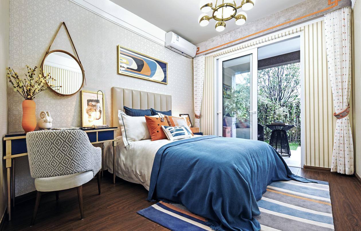 中式风格 三居 80后 白领 小资 卧室图片来自金空间装饰集团在八方小区的分享