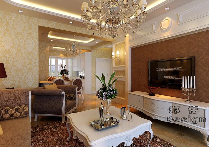 三居 碧桂园 欧式风格 客厅图片来自百家设计小刘在碧桂园103平欧式风格的分享