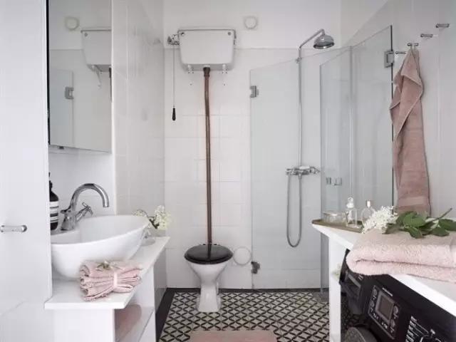 卫生间图片来自家居装饰-赫拉在兰州实创装饰罗马家园120㎡实景的分享