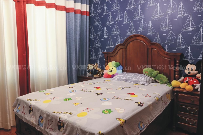 儿童房 实木家具图片来自VK国际设计在美式设计的分享