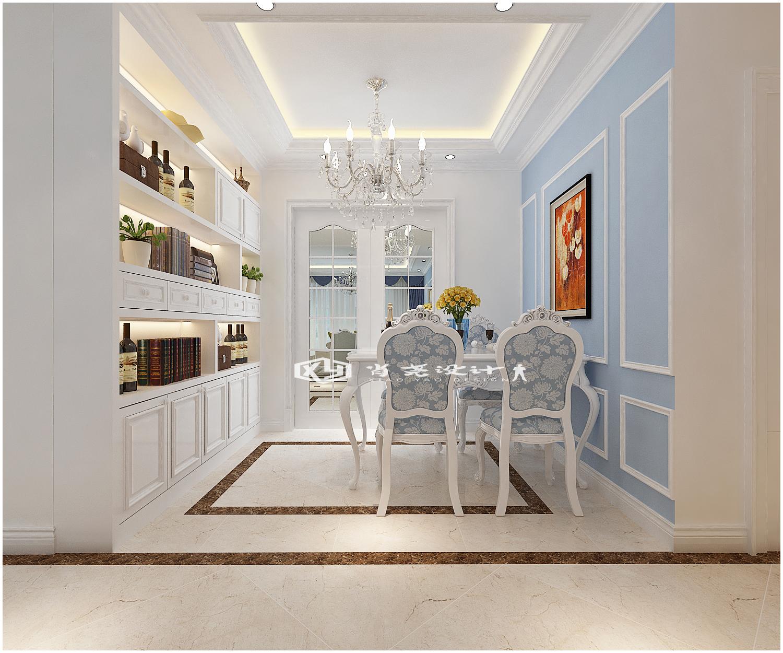 三居 收纳 小资 欧式 简约 餐厅设计 鲁润静园装 餐厅图片来自青岛全屋整装在青岛市南鲁润静园139平装修的分享