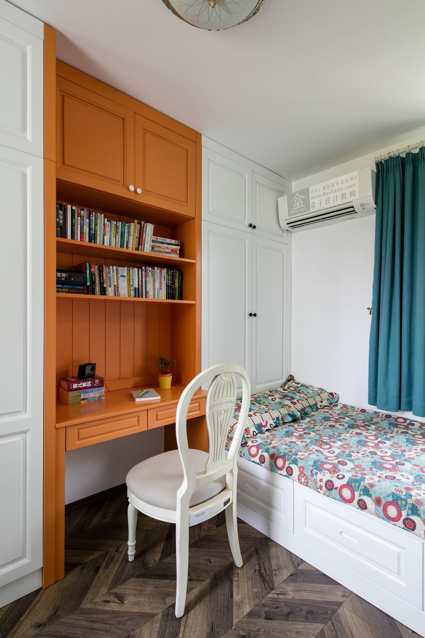 时尚 混搭 三居 白领 收纳 欧式 小资 卧室图片来自盒子设计在冈仁波齐的分享
