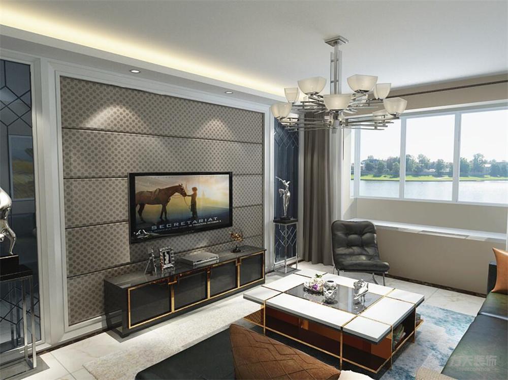 简约 现代 三居 收纳 小资 客厅图片来自阳光力天装饰在力天装饰-融创中心-126㎡-简约的分享
