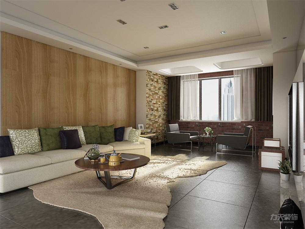 简约 现代 三居 收纳 小资 客厅图片来自阳光力天装饰在力天装饰-金桥公园-123㎡-现代的分享