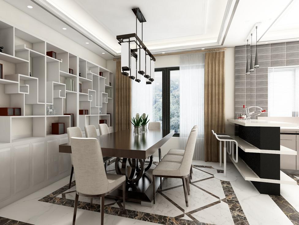 餐厅图片来自湖北省大唐安盛建筑工程有限公司在蕲春别墅的分享