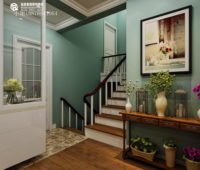 舒适浪漫 轻美式 白领 收纳 小资图片来自广西品匠装饰集团在昌泰鑫金绿洲135平轻美式效果图的分享