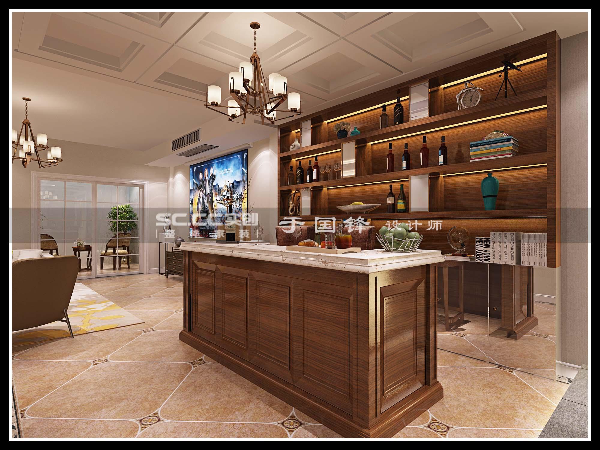 港式 别墅 世茂 玲珑台 厨房图片来自快乐彩在世茂玲珑台240平联排别墅的分享