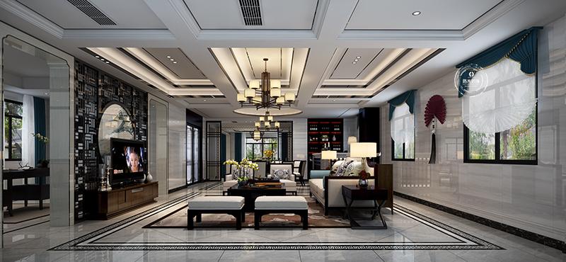 别墅 客厅图片来自深圳浩天装饰在浩天装饰-松岗西山别墅区的分享