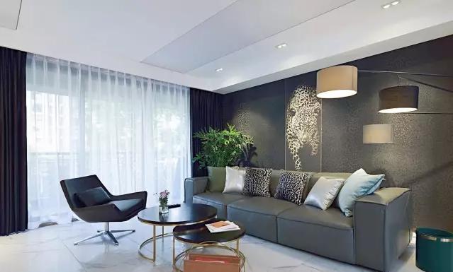 现代四居图片来自沈阳瑞家装饰装修工程有限公司在现代四居的分享