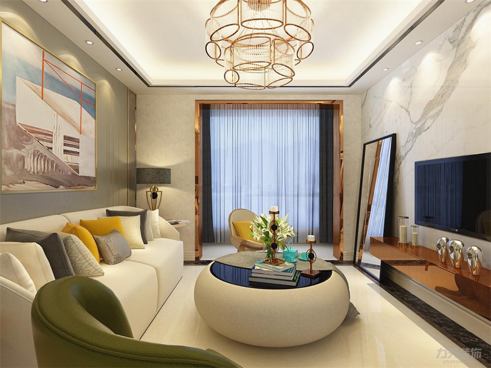 简约 现代 二居 收纳 小资 客厅图片来自阳光力天装饰在力天装饰-金隅悦城-77㎡-简约的分享