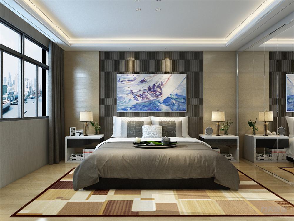 简约 现代 三居 收纳 小资 卧室图片来自阳光力天装饰在力天装饰-金桥公园-123㎡-现代的分享