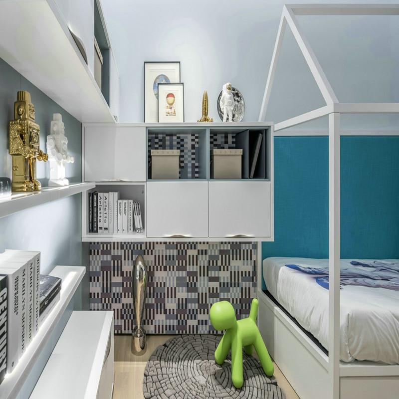 北欧 80后 三居 简约 儿童房图片来自金空间装饰集团在怡海星城111.92平米北欧风的分享
