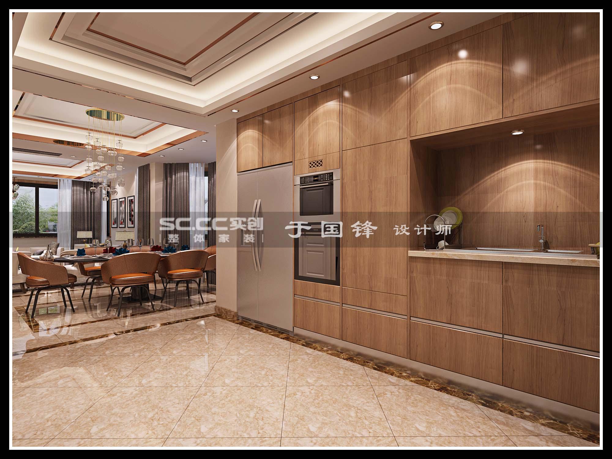 港式 别墅 世茂 玲珑台 餐厅图片来自快乐彩在世茂玲珑台240平联排别墅的分享