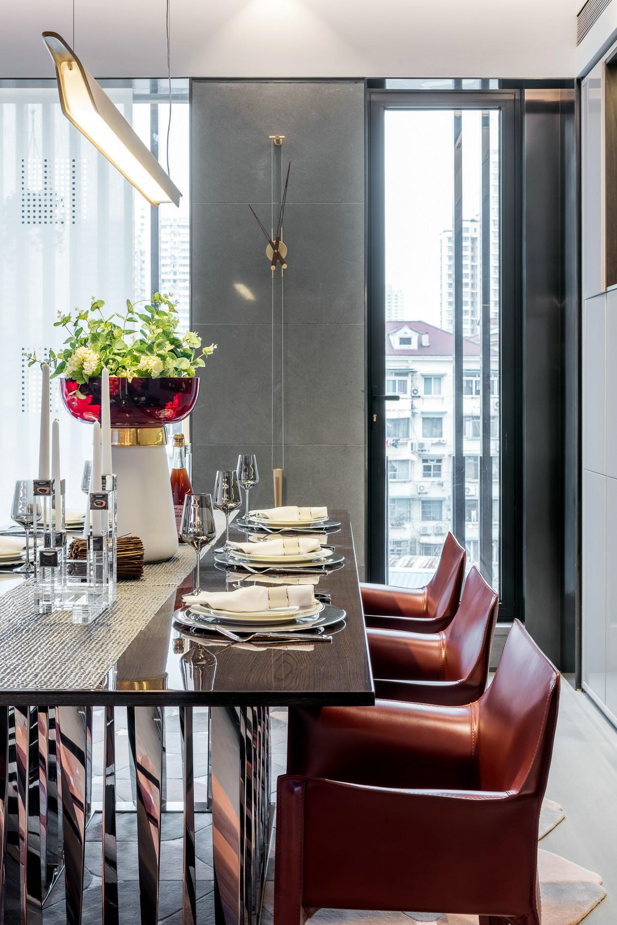 北欧 80后 三居 简约 餐厅图片来自金空间装饰集团在怡海星城111.92平米北欧风的分享