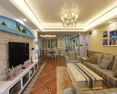 80后 客厅图片来自深圳浩天装饰在浩天装饰-中央原著的分享