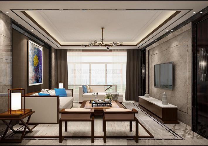 新中式 百家装饰 设计 效果图 别墅 餐厅图片来自百家装饰--小莹在新中式风格的分享