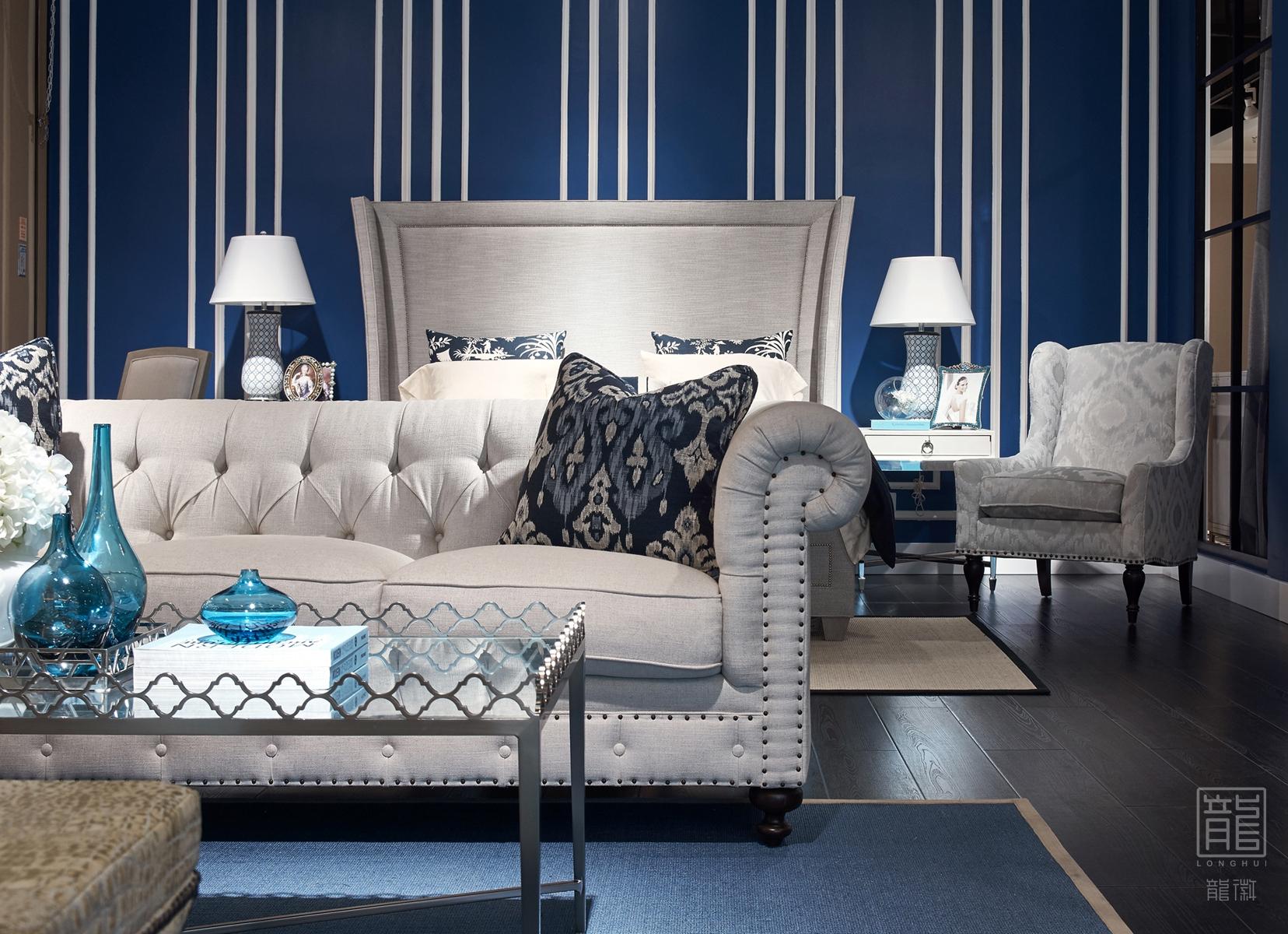 客厅图片来自龙徽设计在成都富森美本哈特温格美式家居馆的分享