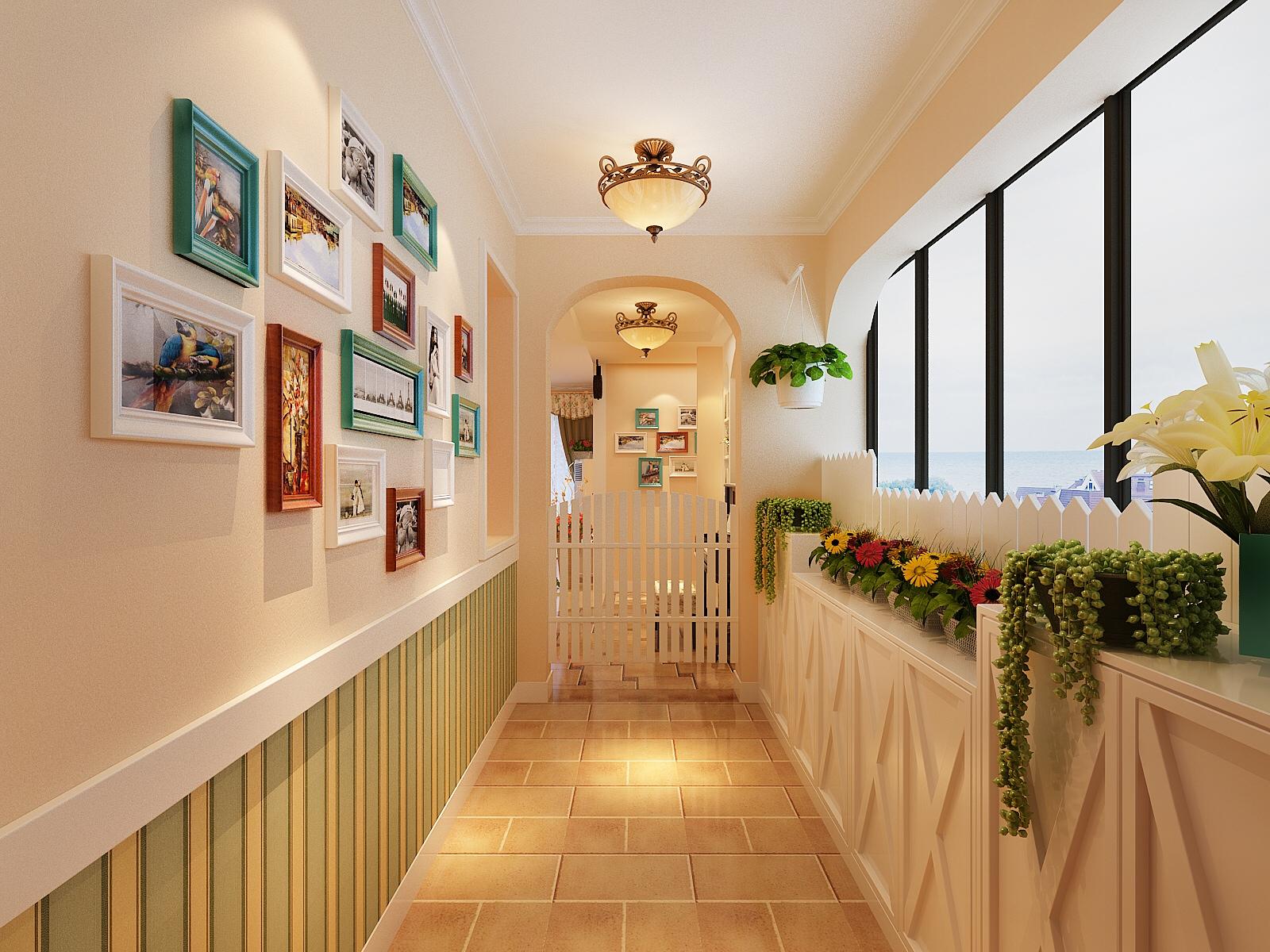暖色调 地中海风格 田园 三居 小资图片来自广西品匠装饰集团在江川悦城地中海风格装修案例的分享