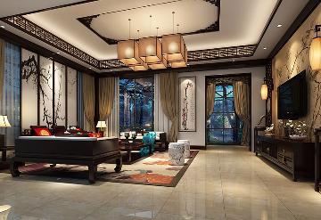 北京小汤山大平层装修设计作品