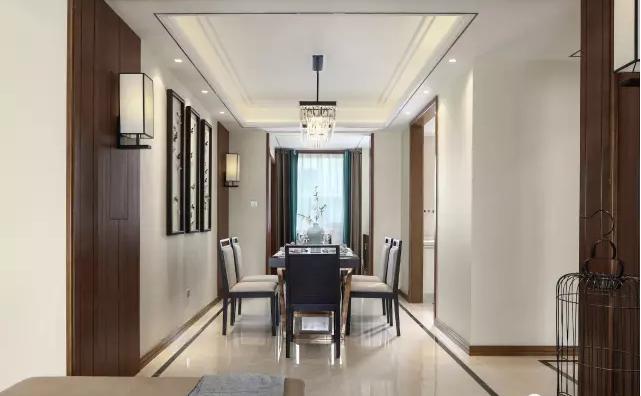 洋房装修 洋房设计图片来自沈阳瑞家装饰装修工程有限公司在130平新中式洋房装修的分享