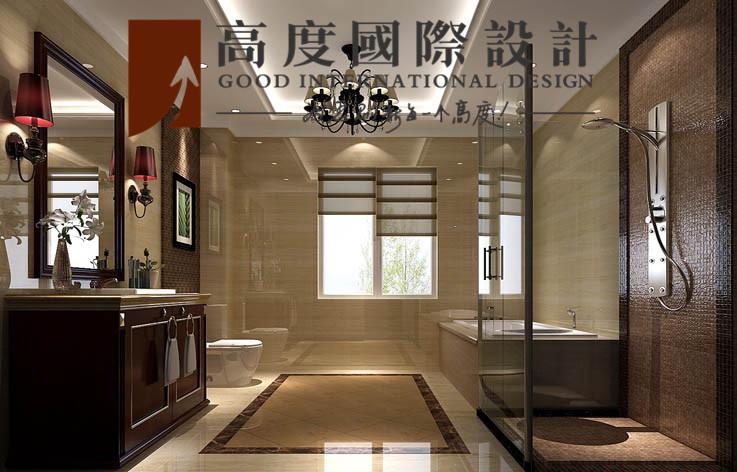 别墅 卫生间图片来自高度国际设计严振宇在四室两厅300平米户型港式风格的分享