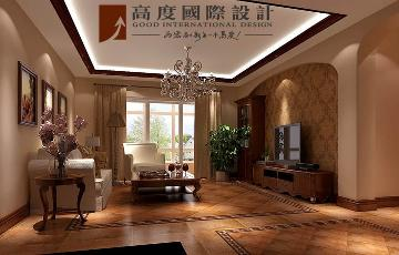 150平米3居室托斯卡纳风格