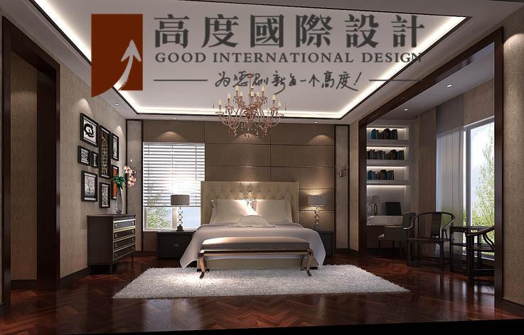 别墅 卧室图片来自高度国际设计严振宇在四室两厅300平米户型港式风格的分享