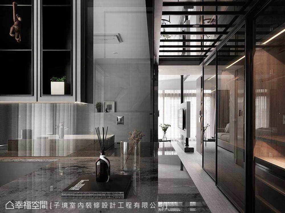 一居 小户型 现代 其他图片来自幸福空间在如梦似幻 66平零距离两人世界的分享