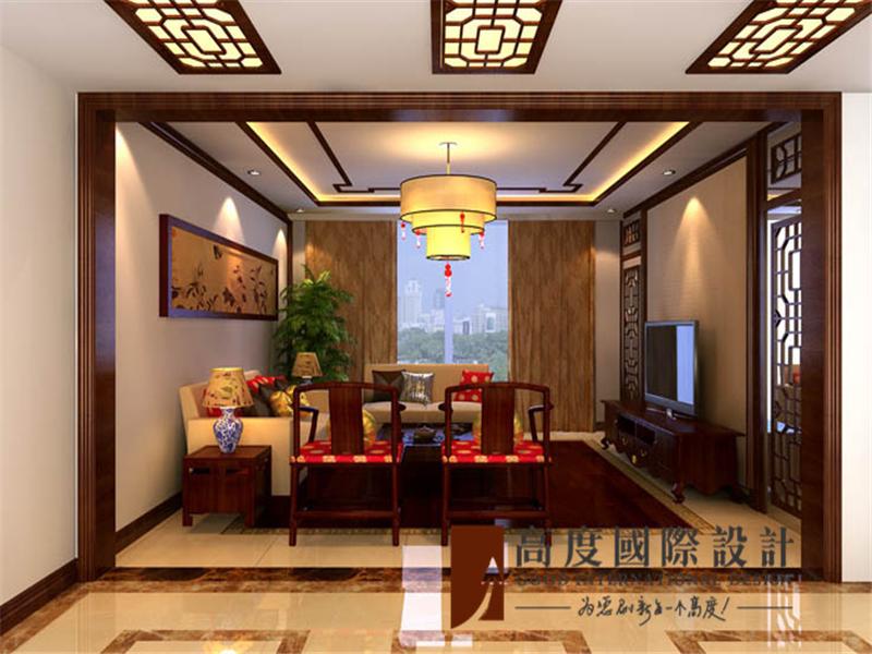 客厅图片来自高度国际装饰--张盛瑞在东湖湾的分享
