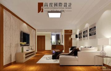 绿提香廊两居室简约风格