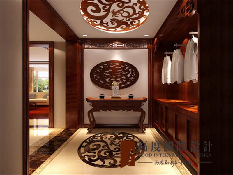 门厅图片来自高度国际装饰--张盛瑞在东湖湾的分享