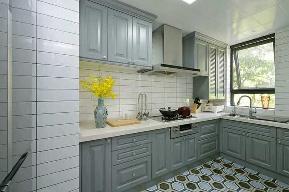 三居 简约 欧式 田园 混搭 二居 白领 收纳 旧房改造 厨房图片来自名星装饰在广电兰亭的分享