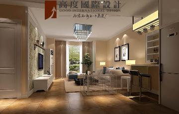 筑华年两室两厅现代简约风格
