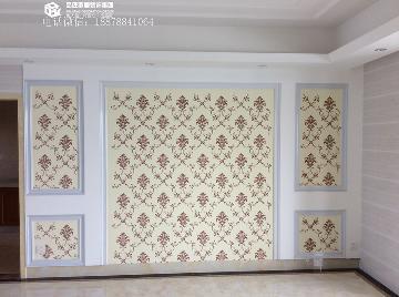瀚林新城97平现代风格实景案例