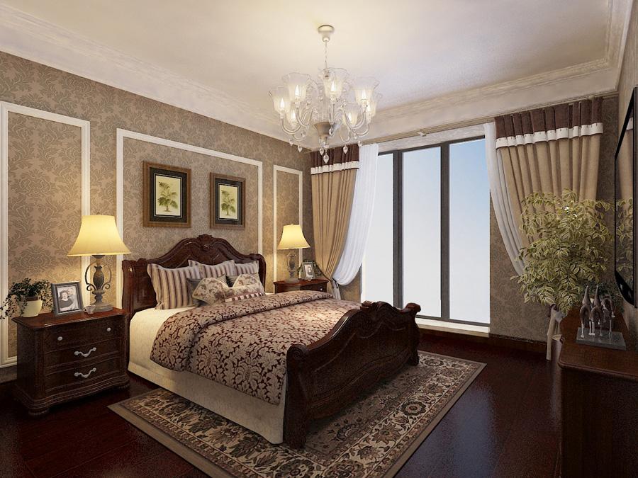 混搭 别墅 卧室图片来自天津生活家健康整体家装在泰达河与海-贵族欧式设计效果图的分享