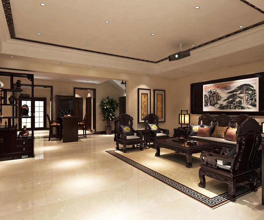 混搭 别墅 客厅图片来自天津生活家健康整体家装在泰达河与海-贵族欧式设计效果图的分享